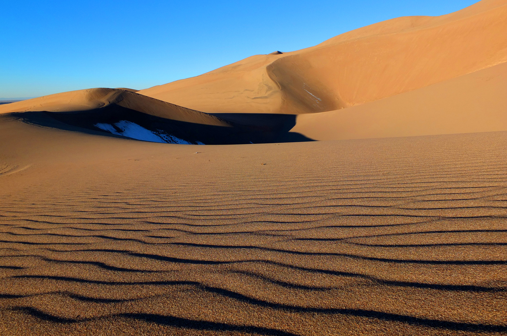 The Great Sand Dunes (Colorado) im Oktober