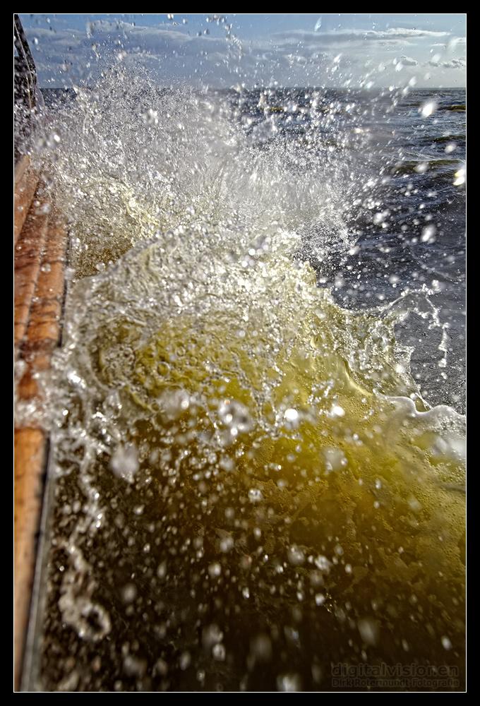 The great Splash!