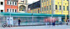 ... the green tram ...