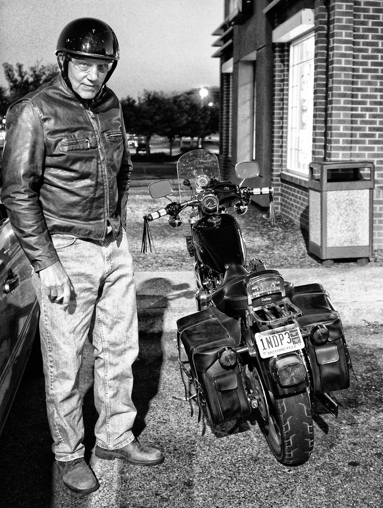 The Guy and his Harley
