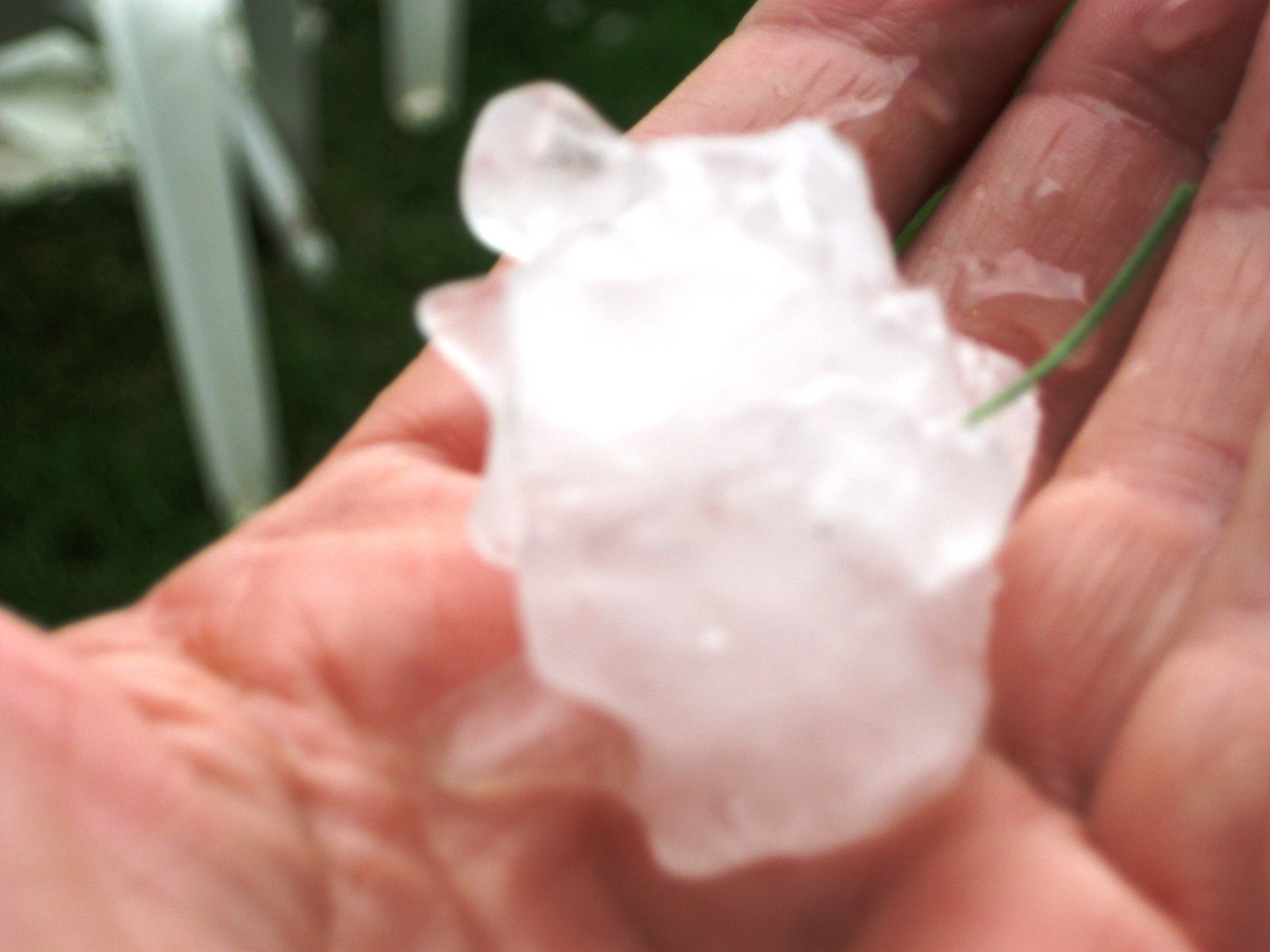 The Hail that came from above