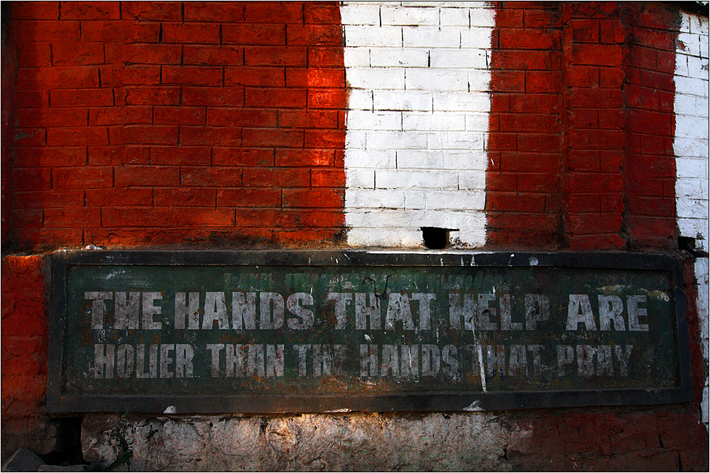 the hands that help !