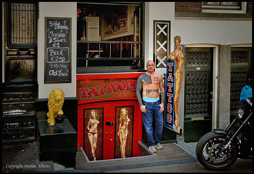 The Hanky Panky Tattooshop Photo Image Street