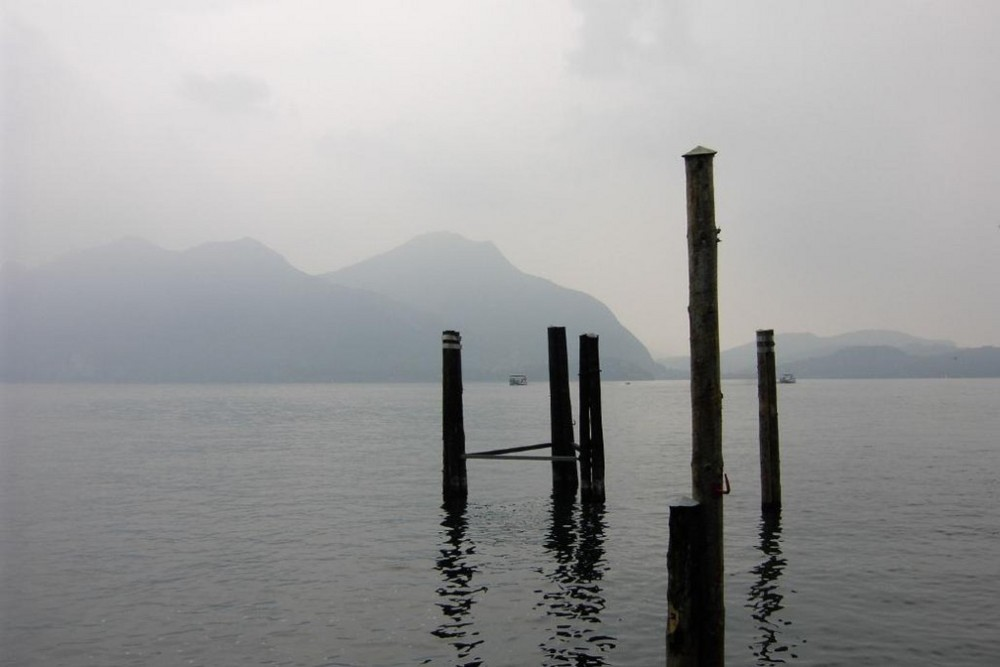 The harbour of Intra