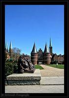 the Holstentor in Lübeck (Ger)