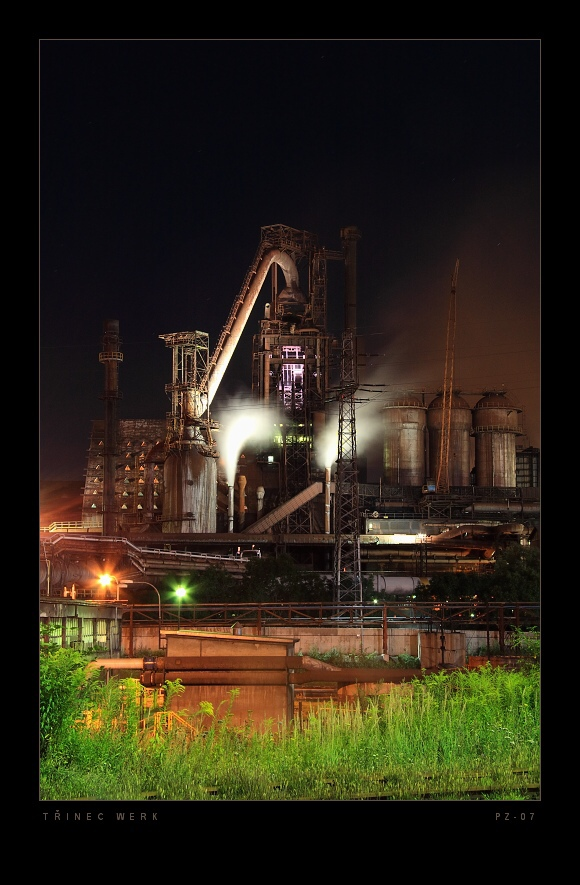 The Ironworks in the Trinec city (Czech republic)