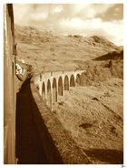 The Jacobite Steam Train on Glenfinnan Viaduct