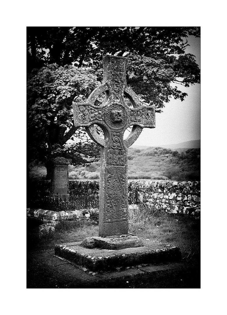 the kildalton cross on the isle of islay