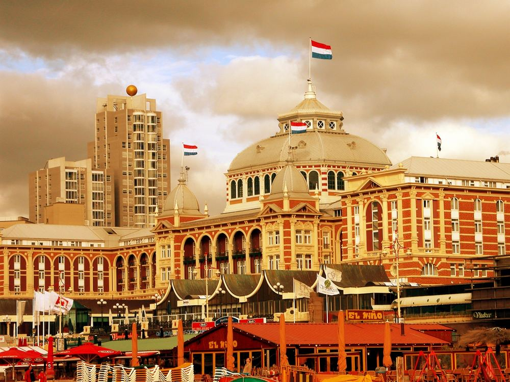 The Kurhaus in Scheveningen -Holland.
