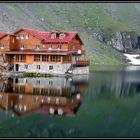 The Lake Balea-Carpatian Mountains