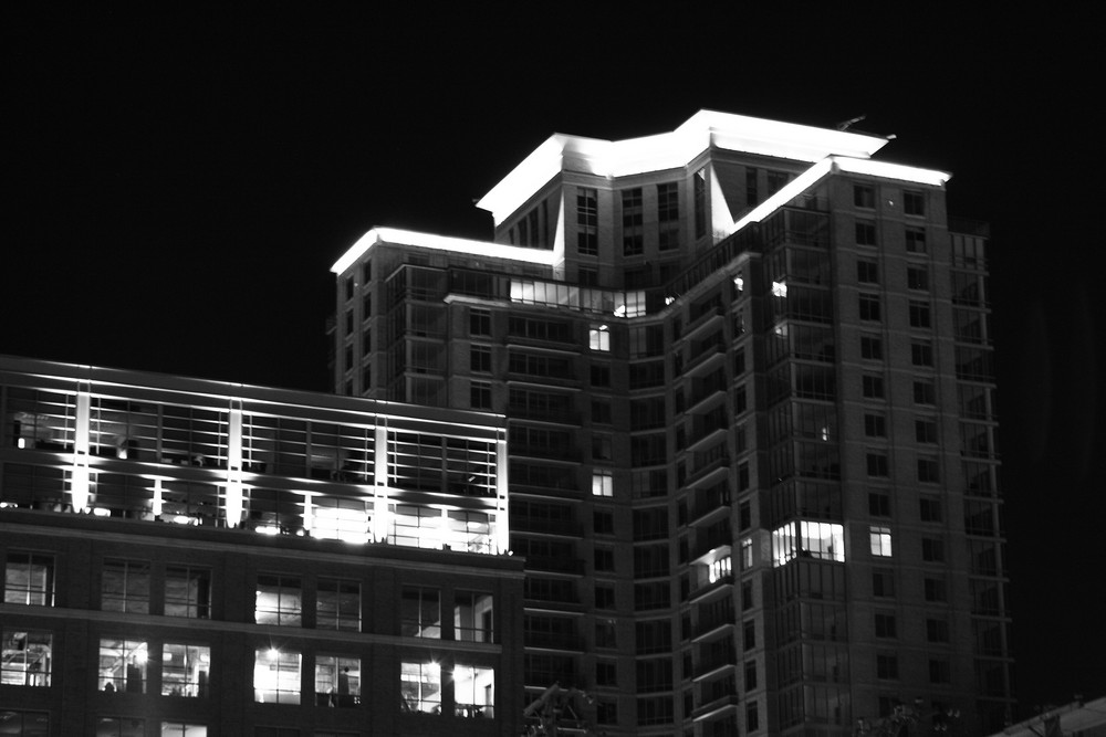 The Laurette Hotel in Black & White