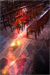 The light: cathedral of Mirepoix (Fr.)
