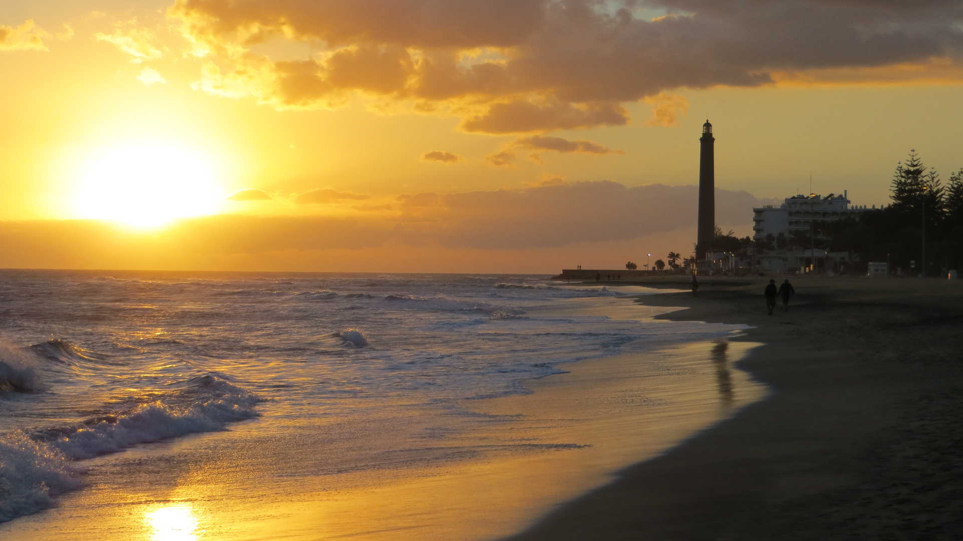 The lighthouse at Faro