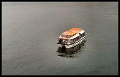 The little boat at Hellesylt fjord.