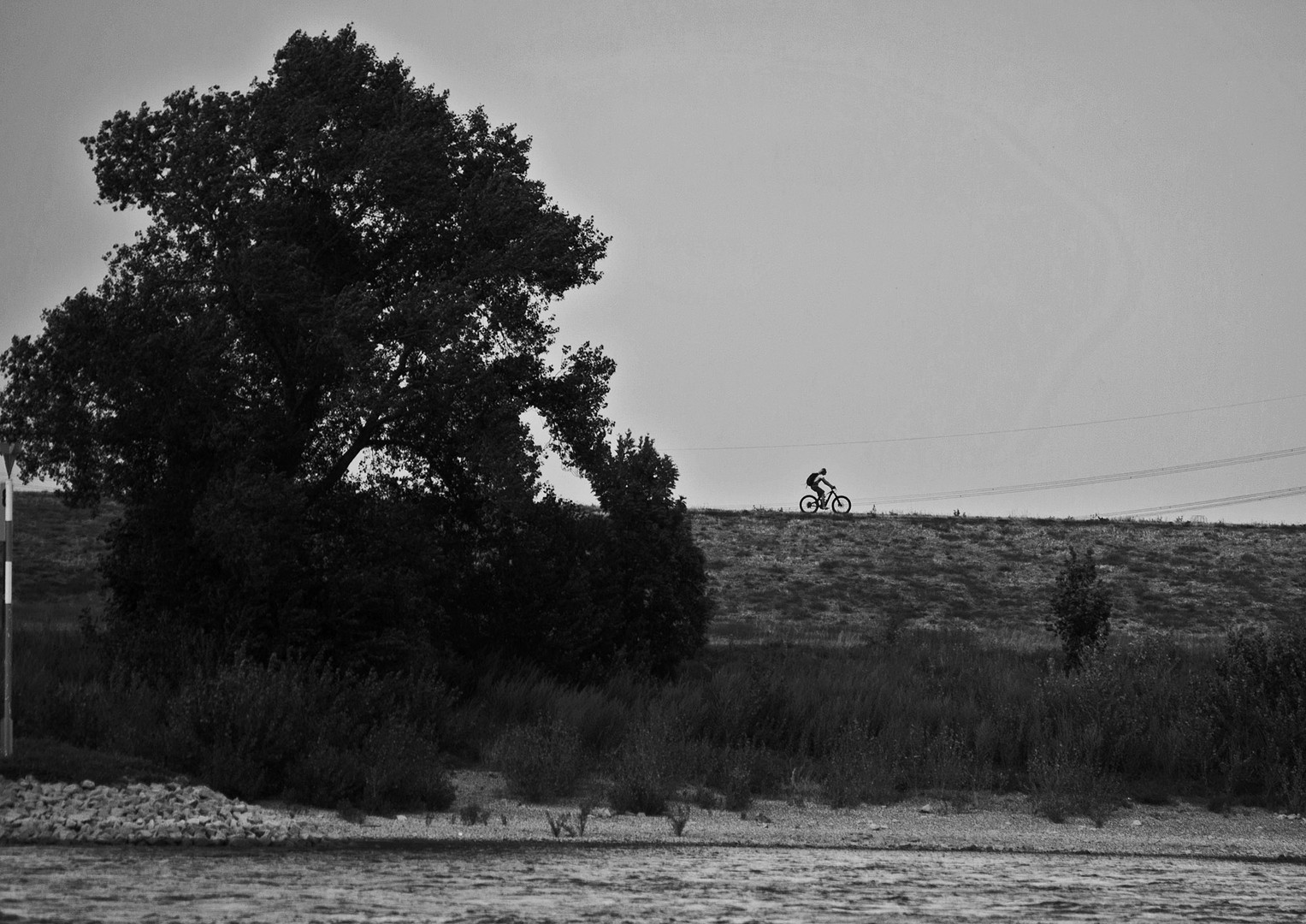 the lonely rider....
