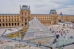 The Louvre Palace & the Louvre Pyramid