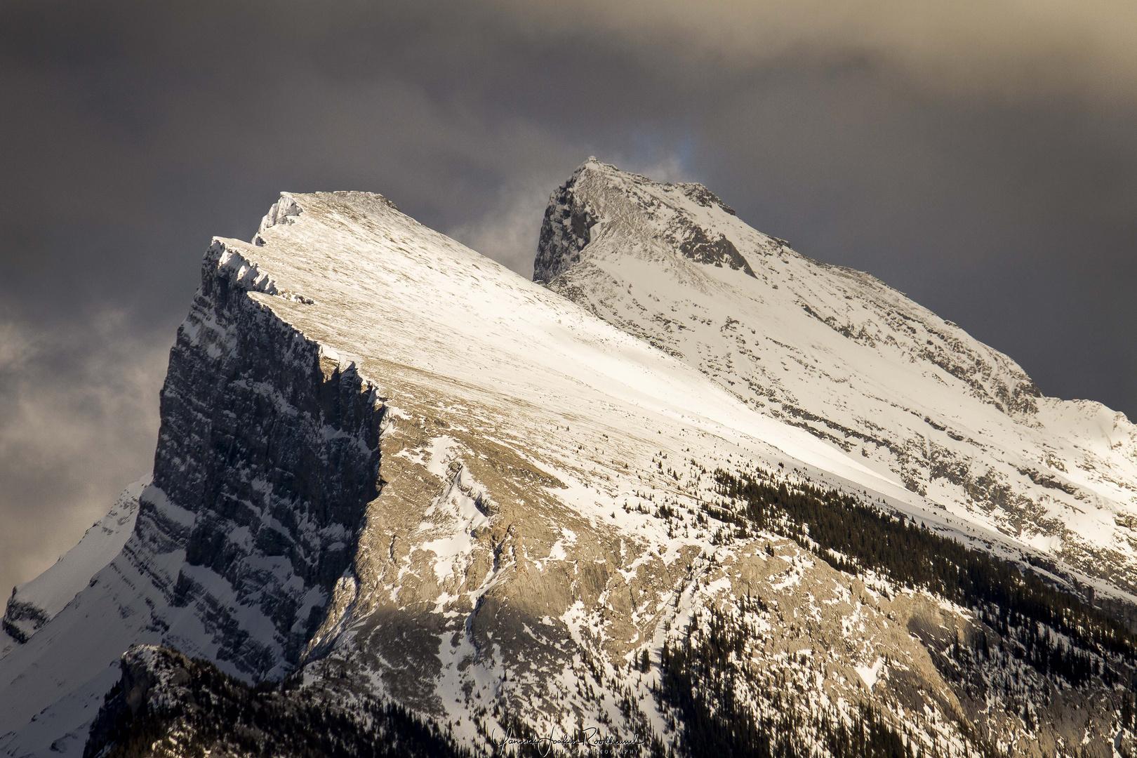 The majestic Mt. Rundle
