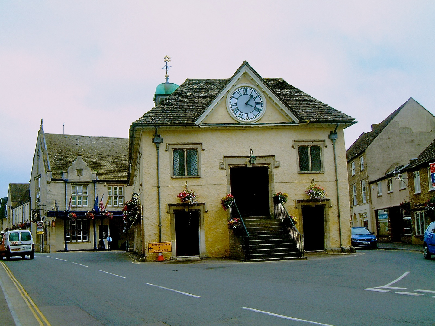 The Market House, built in 1655, Tetbury