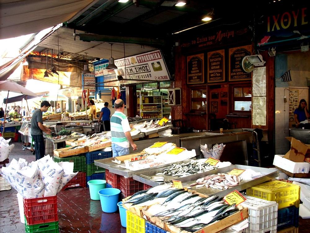 The Market in Piraeus