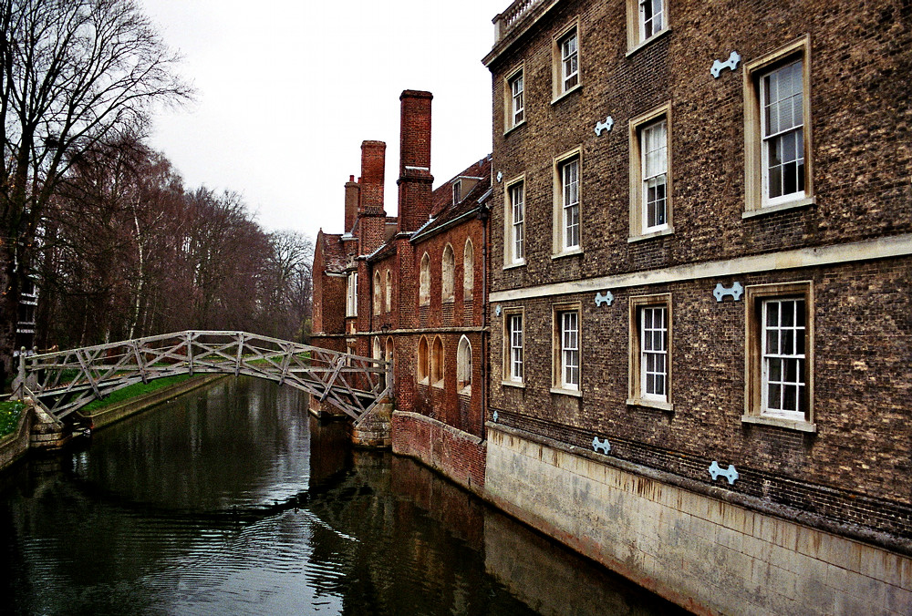 The Mathematical Bridge - Cambridge