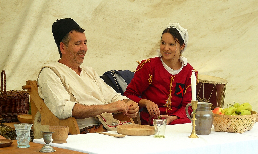 The Middle Ages (76) : Father and daughter