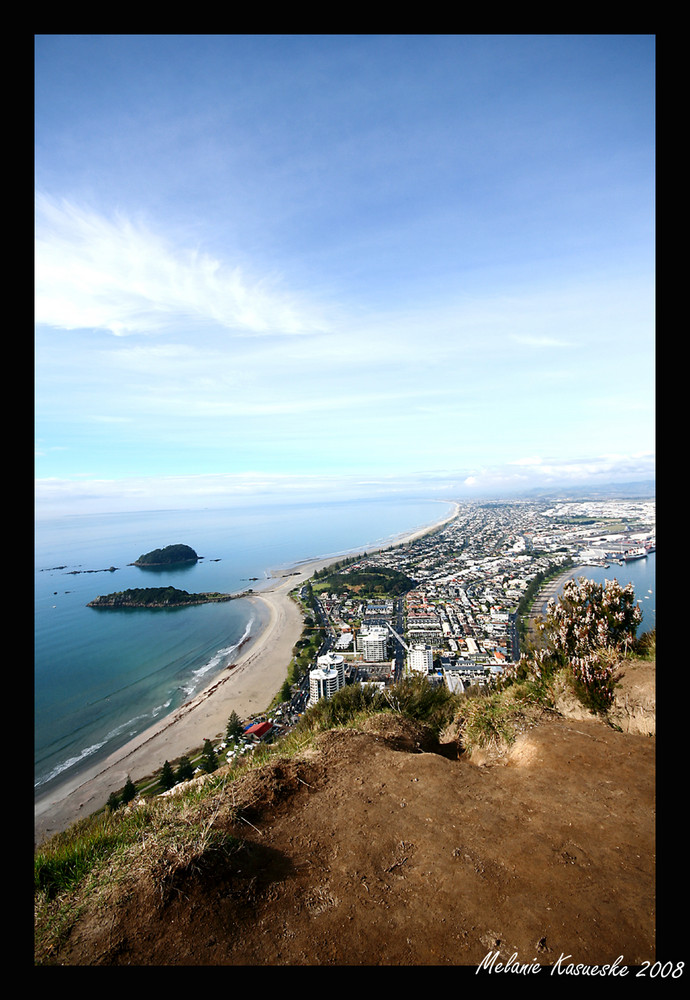 the most popular view of Mt Maunganui