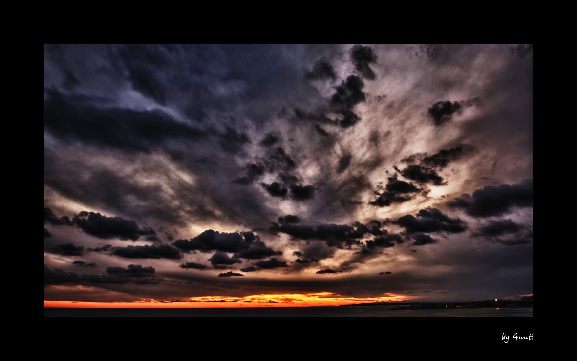 the napa dramatic sunset