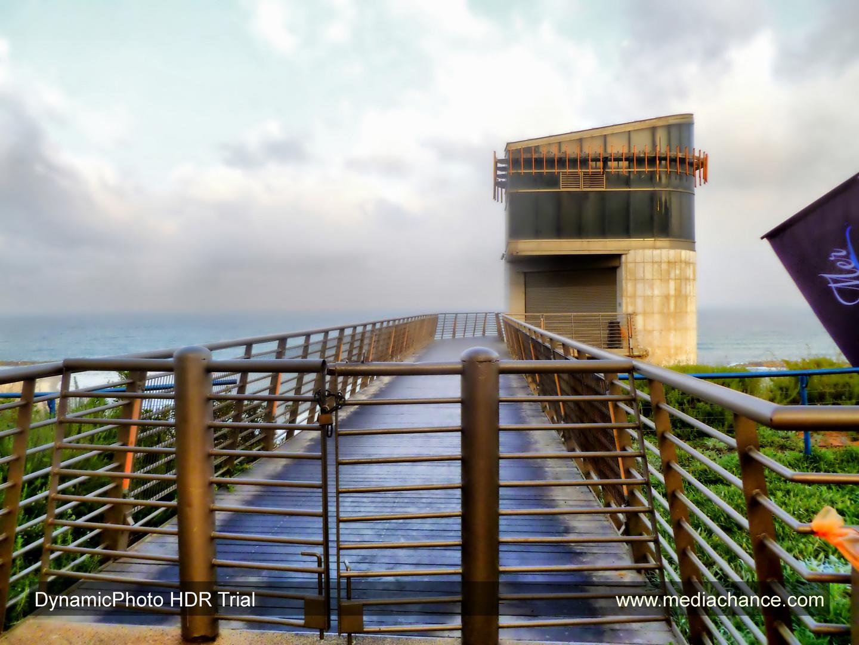 THE NETANYA BEACH ELEVATOR