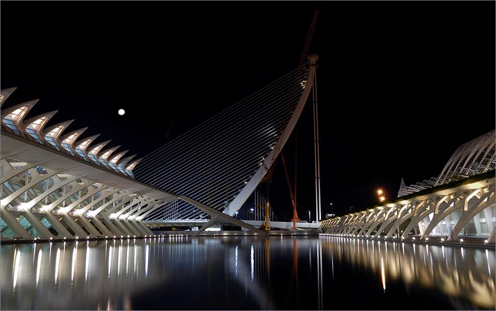 The New Bridge & The Moon