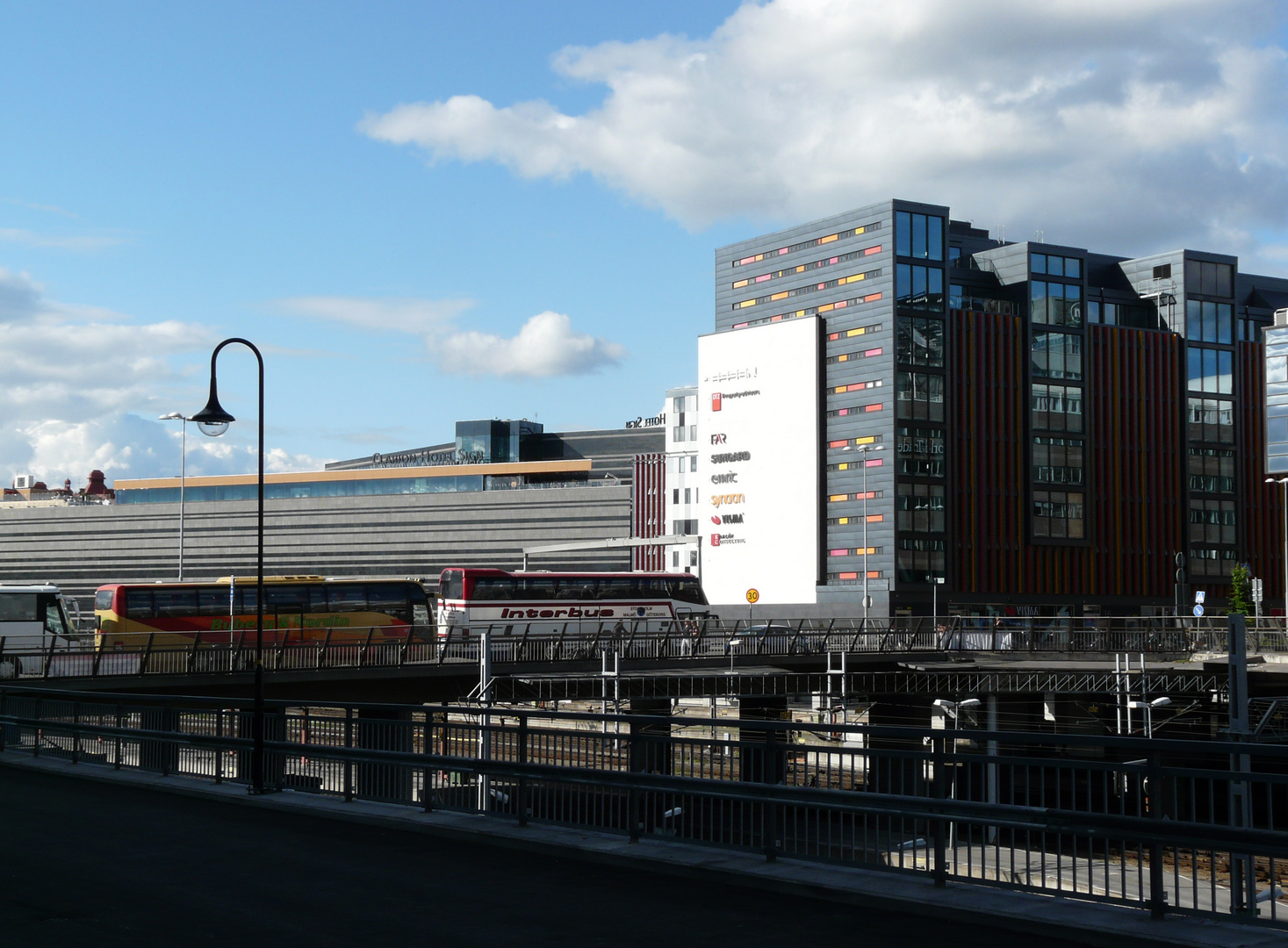 The New Centre in The Stockholm City