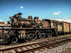 The old #47 Steam Locomotive