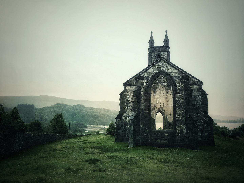 the old church of dunlewey