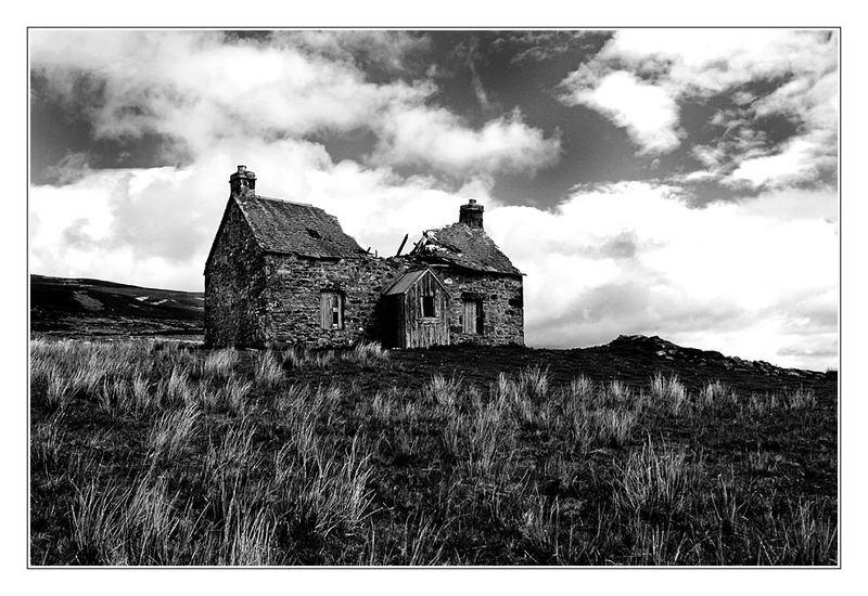 The Old Farmhouse Black & White