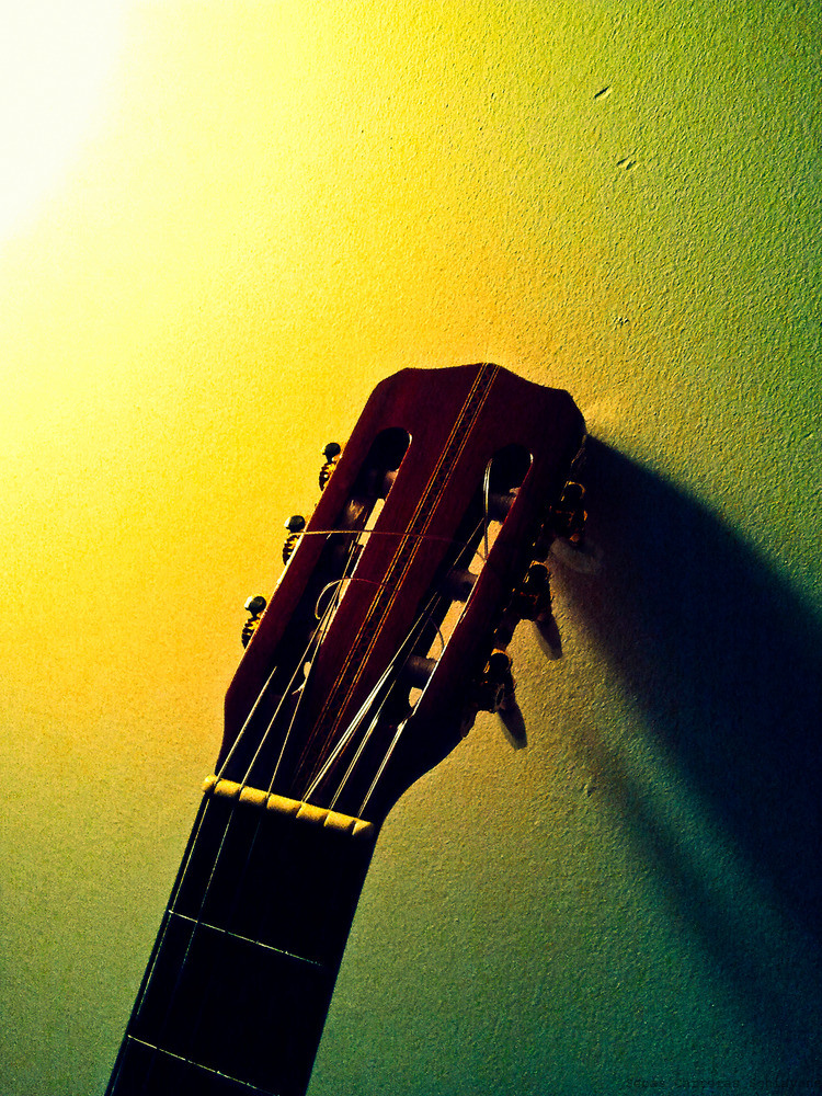 THE OLD GUITAR