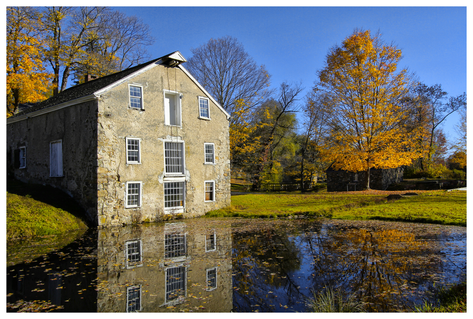 The Old Mill at Waterloo Village