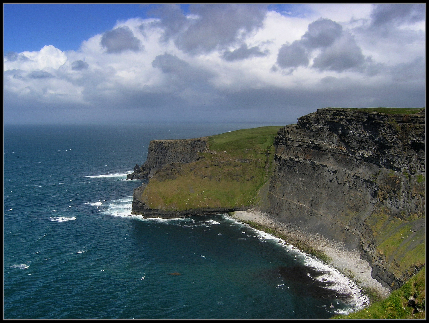 The other side of Cliffs of Moher