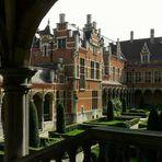 The Palace 'Margaret of Austria' at Mechelen (Belgium)