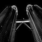 The Petronas Towers in Kuala Lumpur- SW Version
