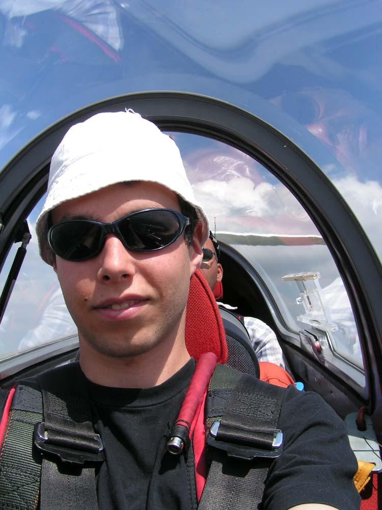 """The Pilot flying"""