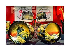 "- The Pink Floyd Exhibition ""Nick Masons Drums"" -"
