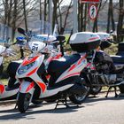 the police scooter gang (Geneva, Switzerland)