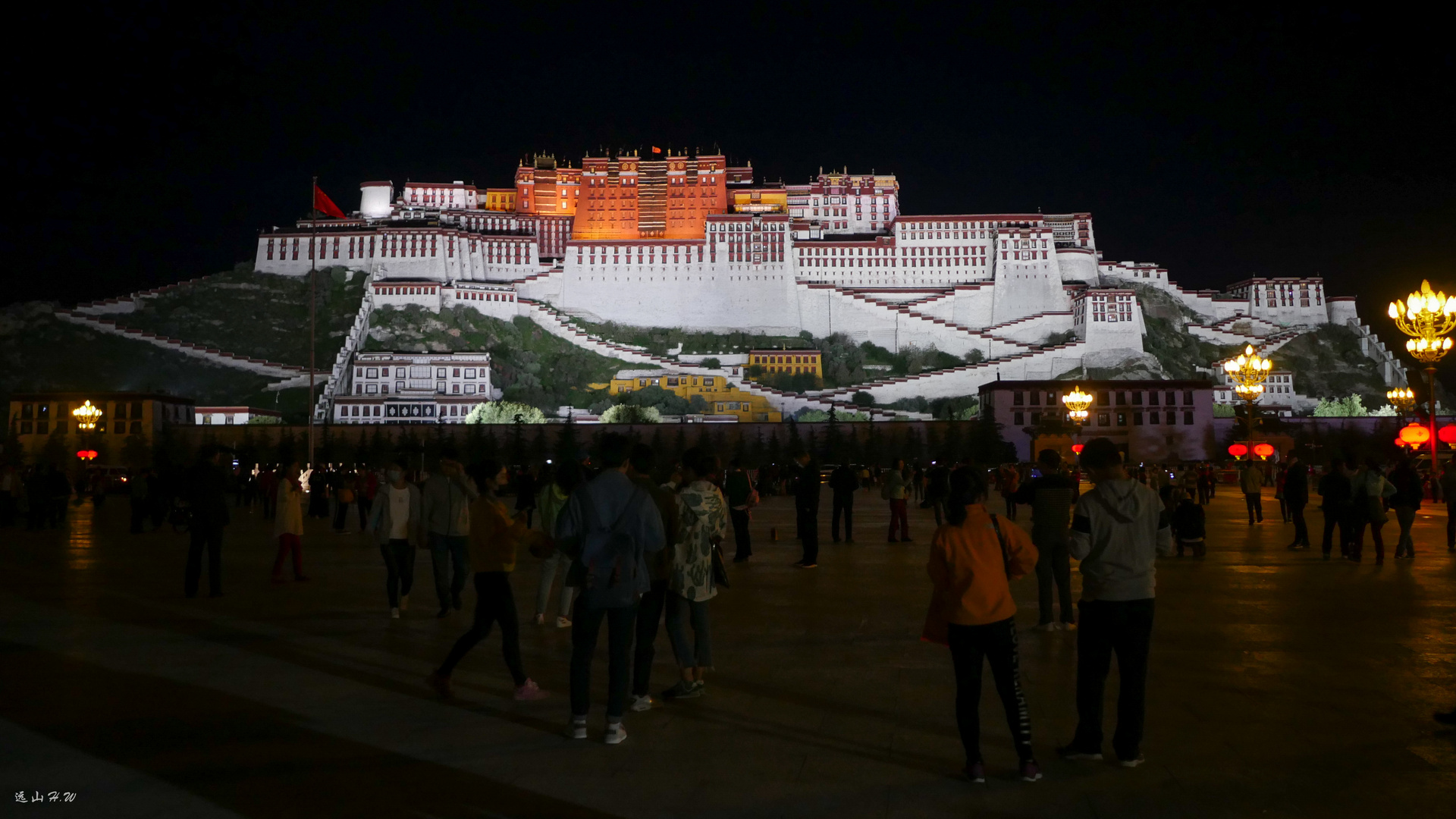 The Potala Palace in Tibet,China.2