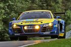 """the power of a 24 hours winner car at the """"Quiddelbacher Höhe"""" / Nürburgring"""