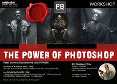 THE POWER of PHOTOSHOP mit Peter Brownz Braunschmid um nur 99 Euro
