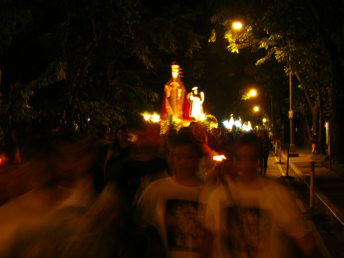 The Procession at Night