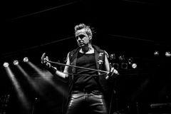 The Queen Kings, Singer MIrko Bäumer, Hennef, Germany 2013