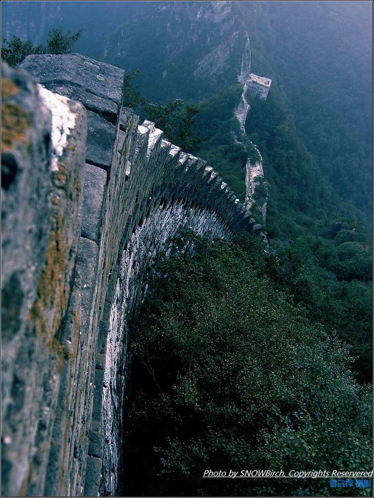 The real ancient great wall-Jiankou