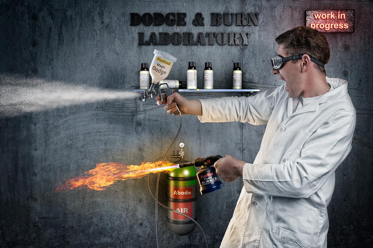 The real Art of Dodge & Burn