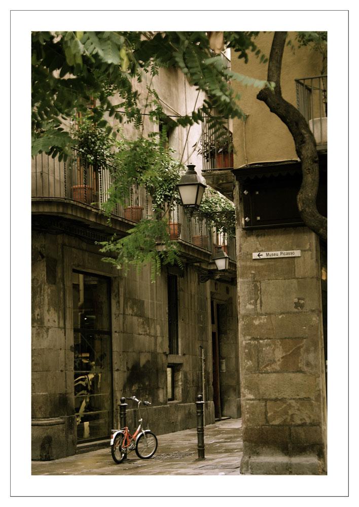 The Red Bike, Barcelona