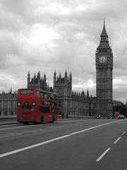 The Red Bus and Big Ben